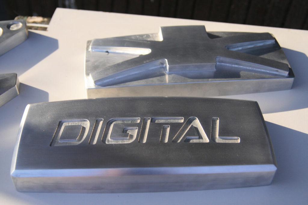 Frezowanie w aluminium - DIGITAL