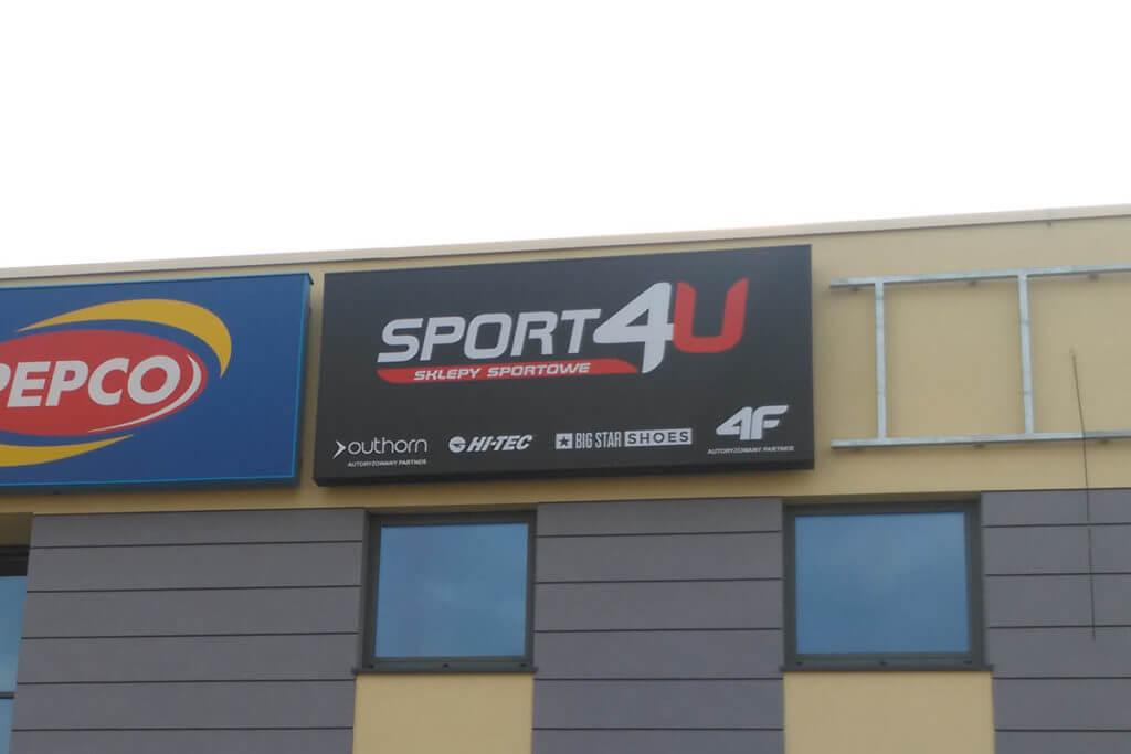 Kaseton reklamowy - sport4U