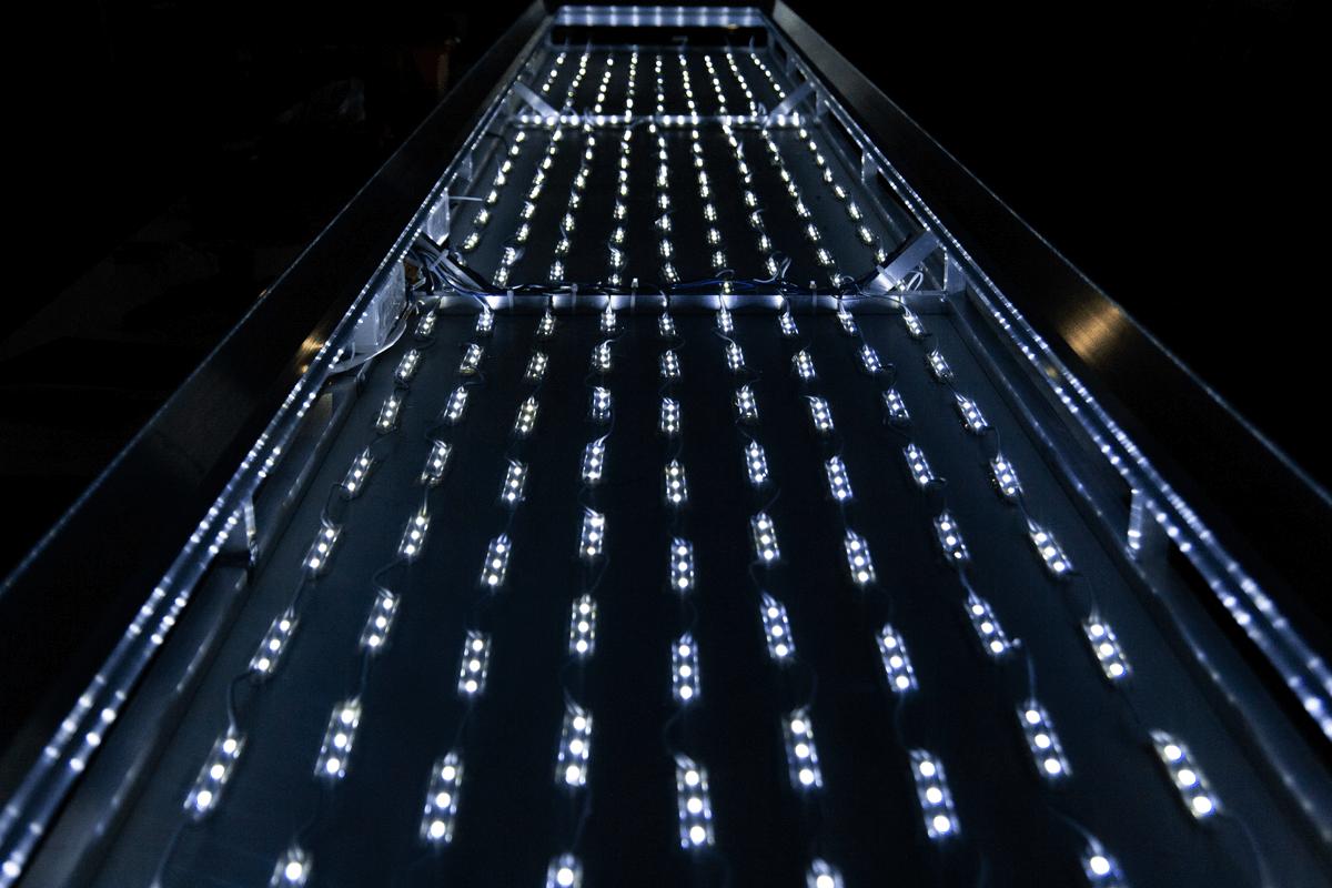 Oświetlenie kasetonu świetlnego KEBAB CITY