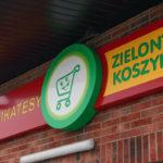 Kaseton reklamowy - Zielony Koszyk