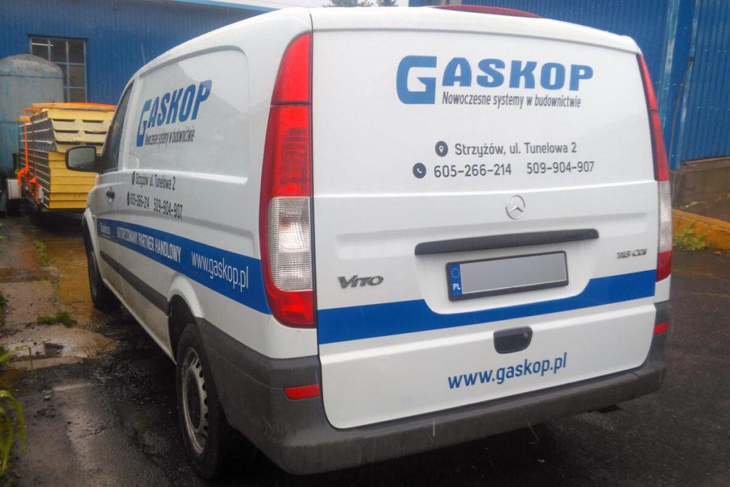 Oklejanie samochodu - GASKOP