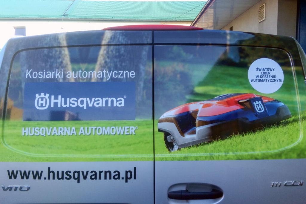 Oklejanie samochodu - PILAR-POL Dealer Husqvarna
