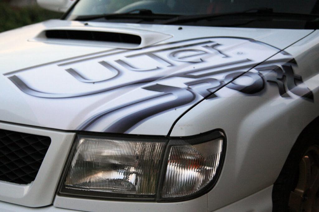 Oklejanie samochodu osobowego - Ulter Sport